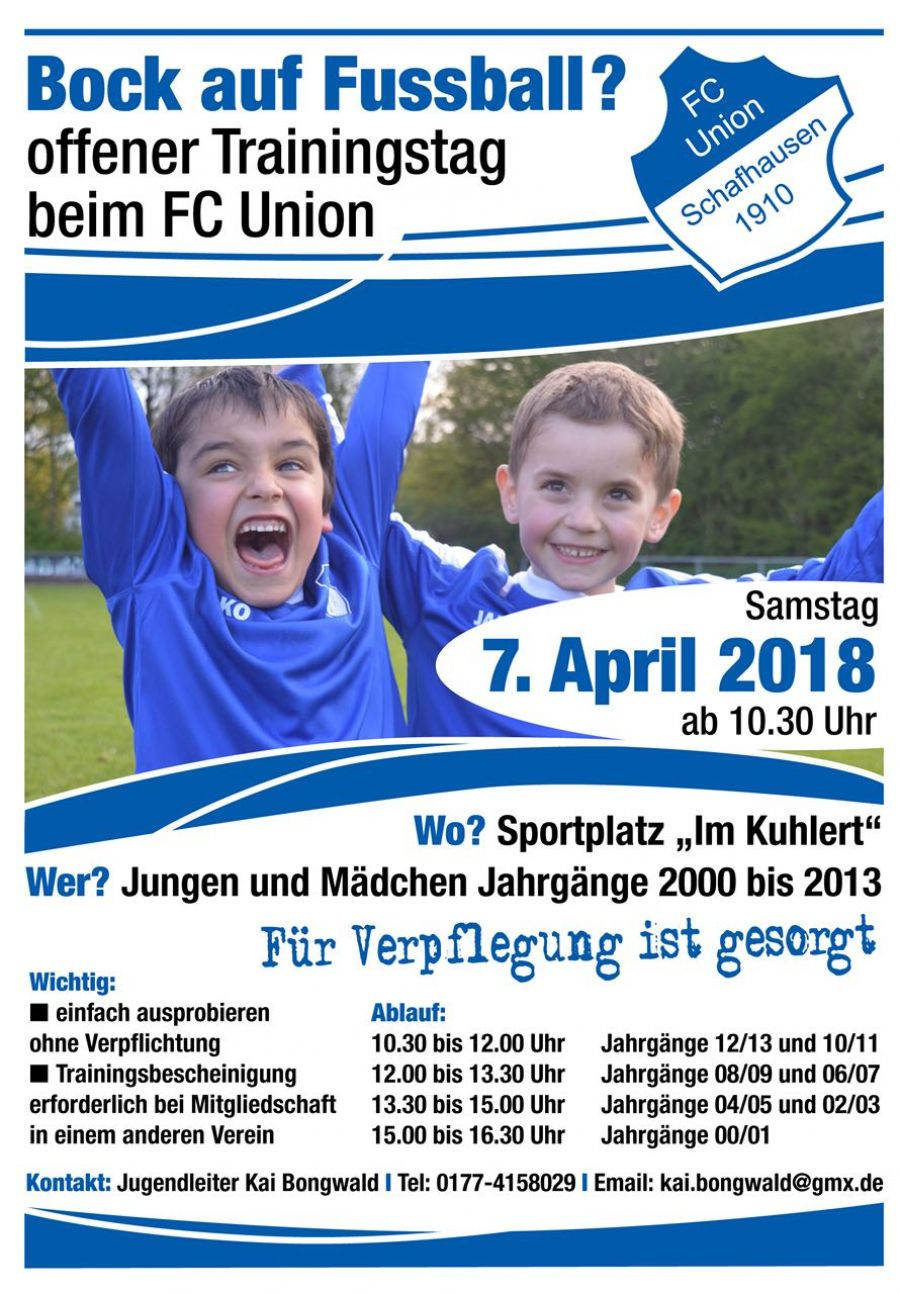 Offener Trainingstag